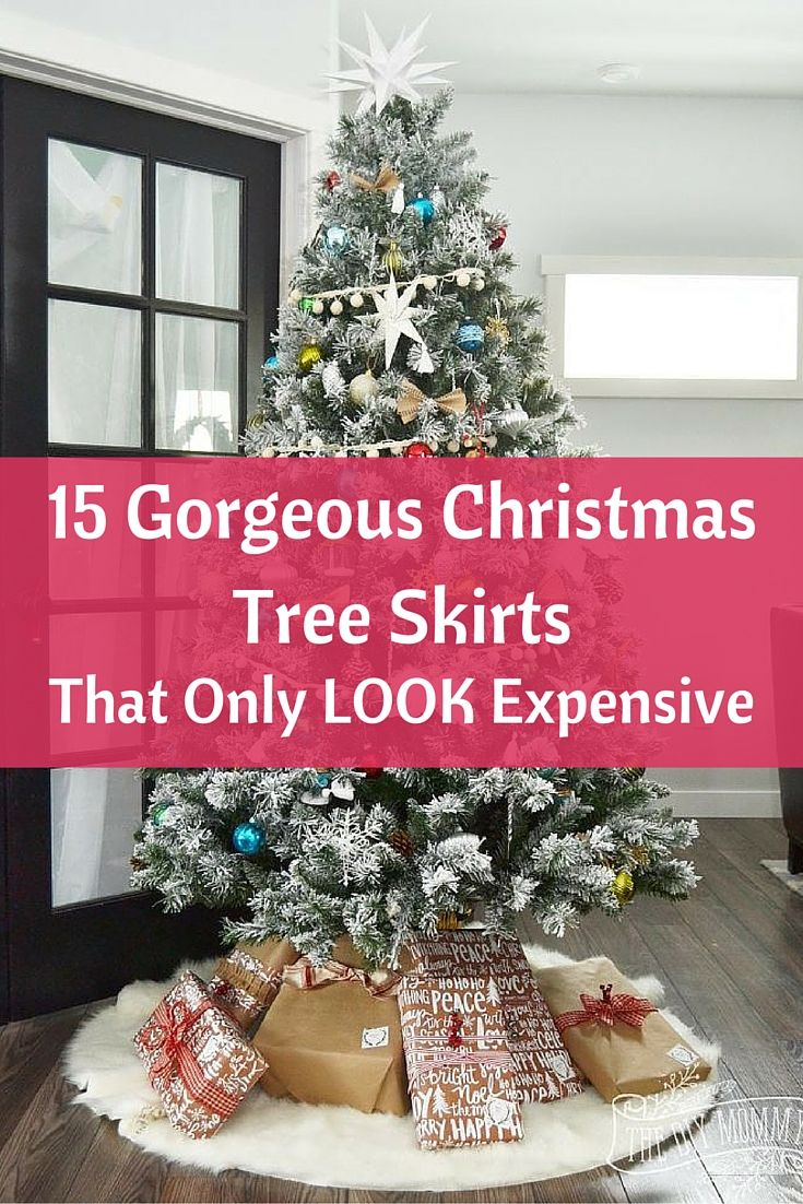 15 Gorgeous Christmas Tree Skirts That Only Look Expensive Gorgeous Christmas Christmas Spirit Christmas