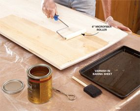 How to Get a Smooth Polyurethane Finish | Woodworking, It ...