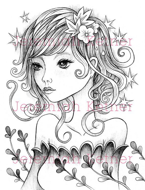 Walking With You - Digital Coloring Page | Colorear, Sellos ...