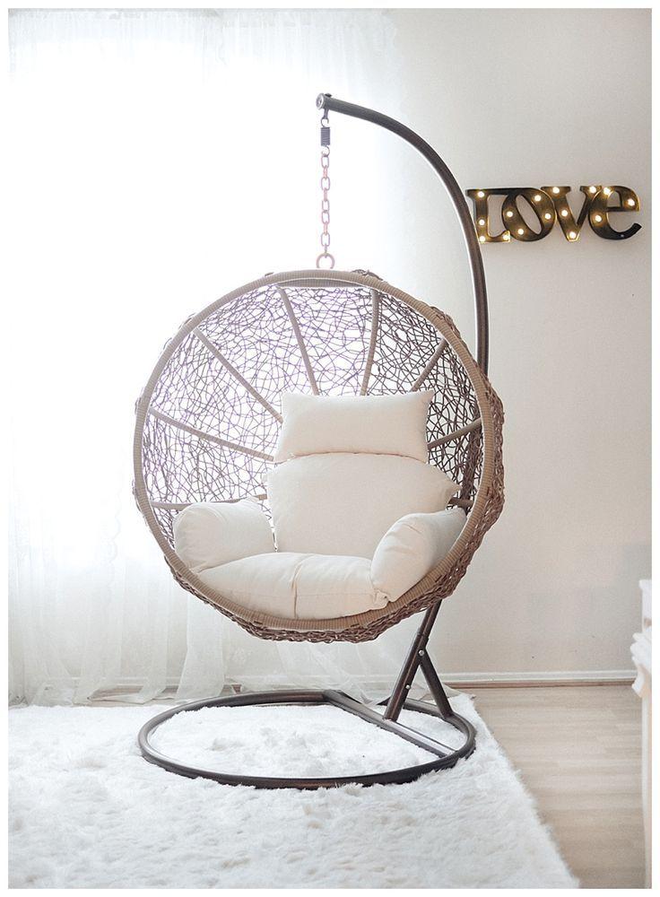 swing chair on sale, indoor swing chair @janawilliamsx0 ähnliche tolle Projekte und Ideen wie im Bild vorgestellt findest du auch in unserem Magazin . Wir freuen uns auf deinen Besuch. Liebe Grüß #bedroomideas
