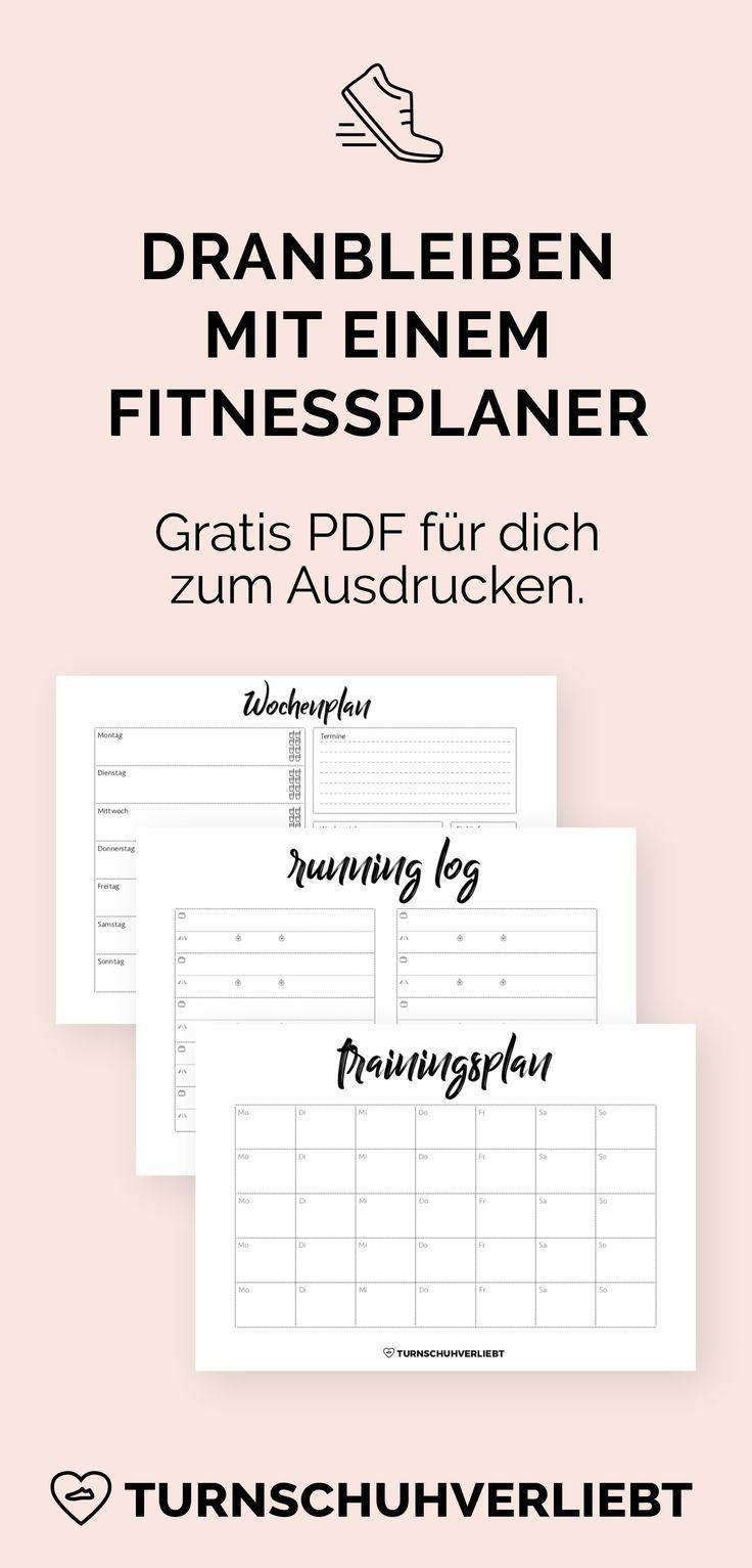 Photo of Fitnessplaner kostenlos zum Ausdrucken | turnschuhverliebt