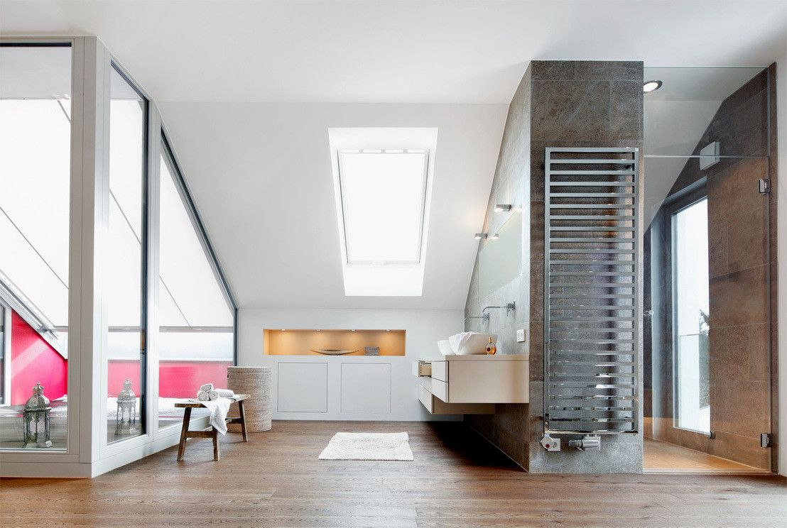 Badezimmer Architektur 360 dachaufstockung eines einfamilienhauses