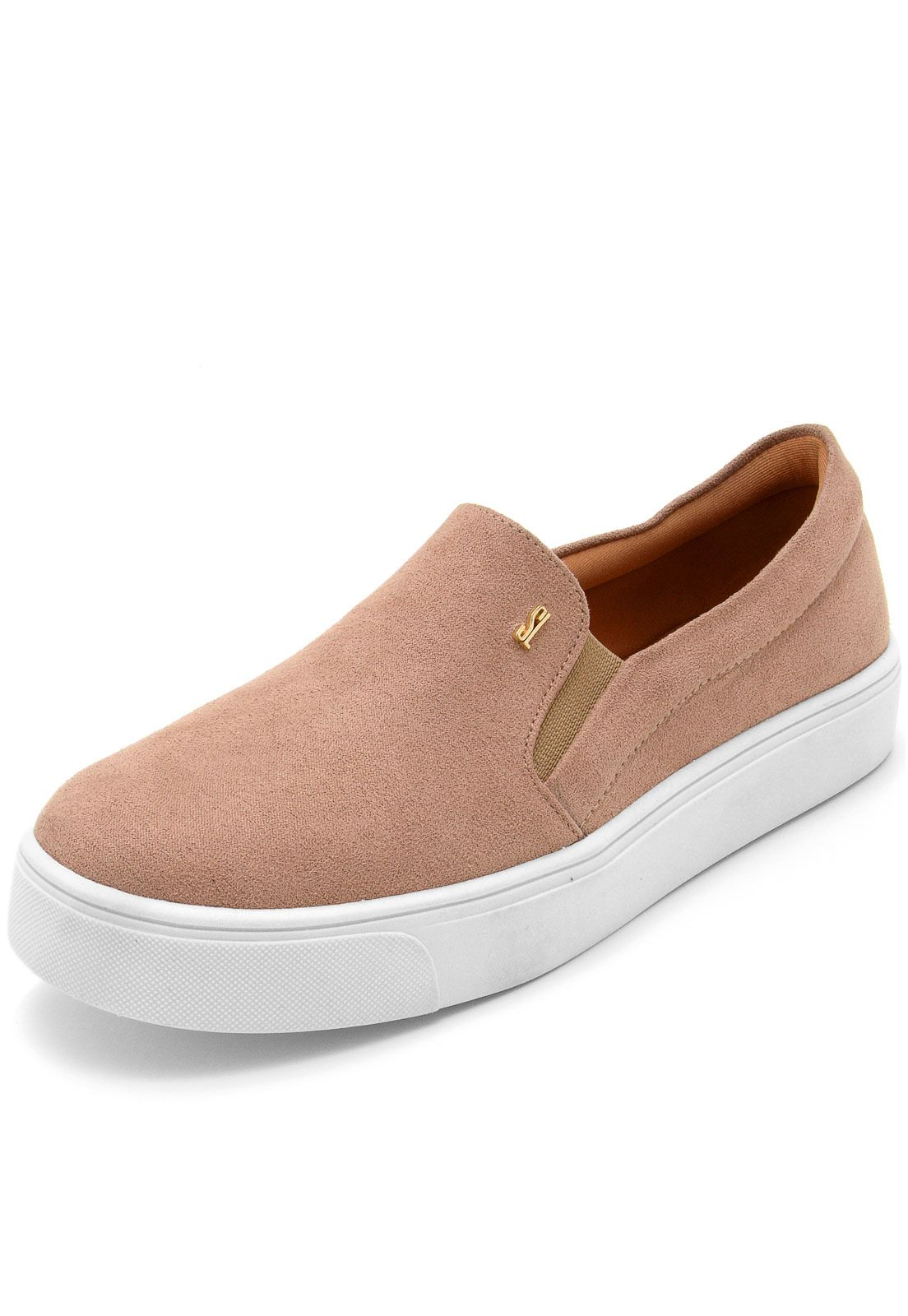e123497cf Slip On Santa Lolla Suede Bege in 2019 | cute shoes | Sapatos santa lolla,  Suede, Looks