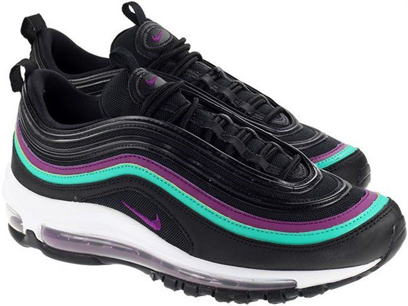5a4a955a344 Buy Nike WMNS Air Max 97 Black Bright Grape Sneakers + Review