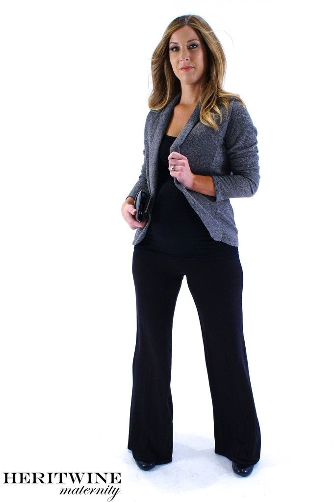 5dd0ce75193a5 Sleek and chic maternity business clothes. | Heritwine Maternity ...