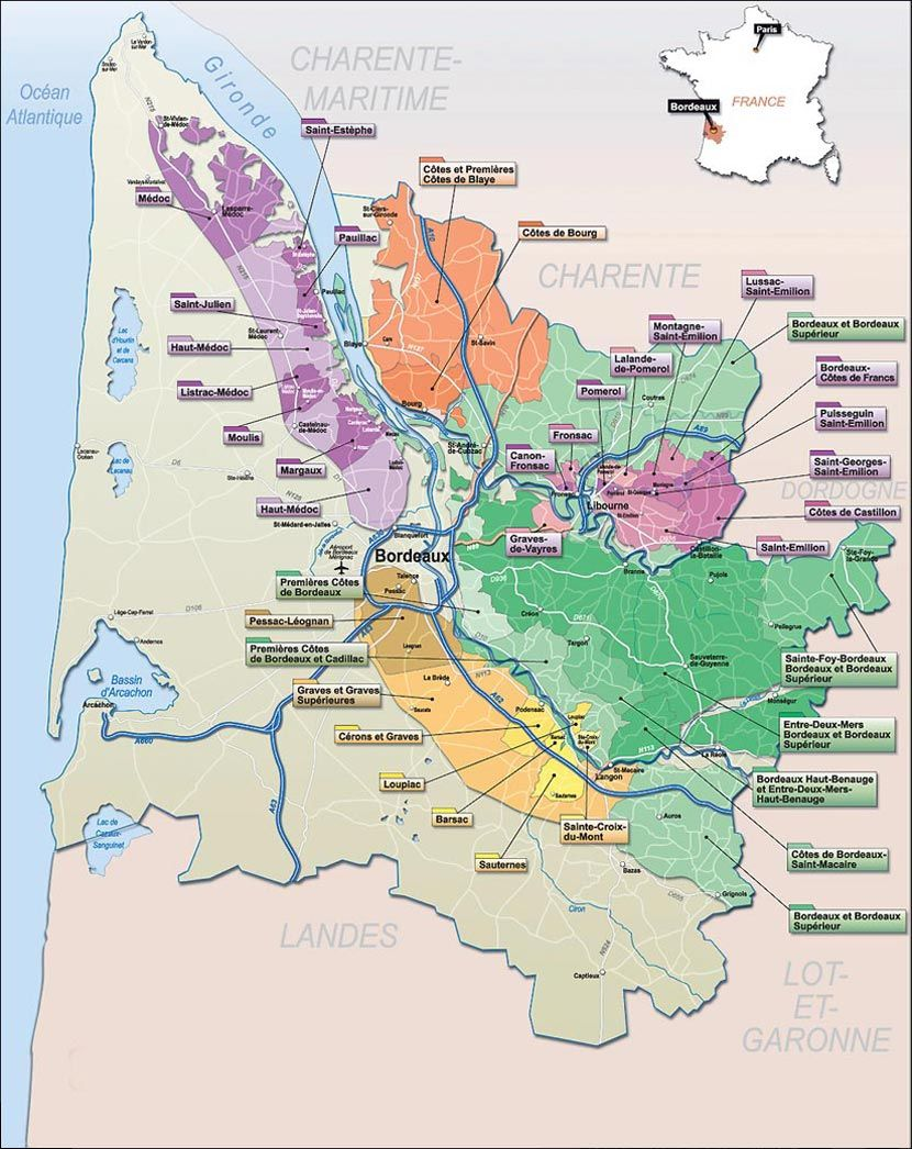 Pin by Tatjana Buisson on Bordeaux Pinterest French wine regions
