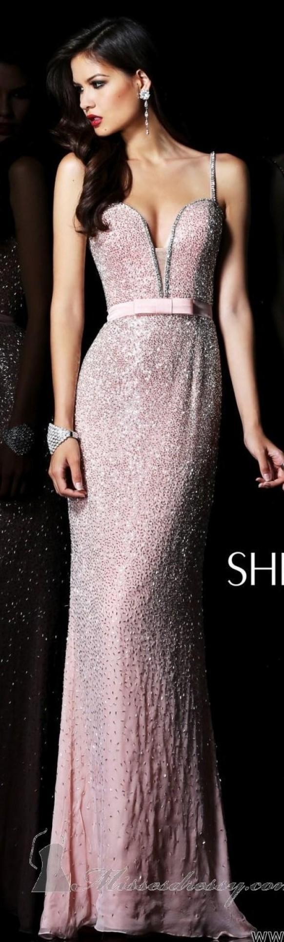 Sherri Hill Couture ~ rosa | Fashion Dress | Pinterest | Brautkleid ...