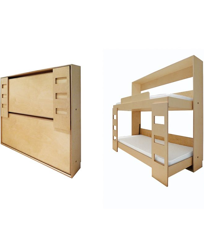 Do It Yourself: Double Murphy Bed, This Baltic Birch Bunk