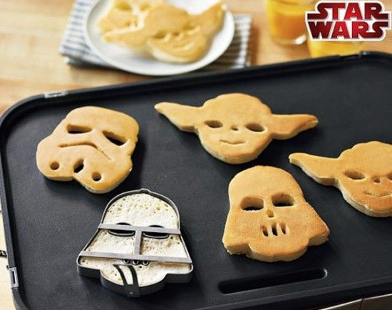 Les moules à Pancake Star Wars