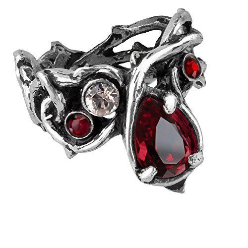 Passion Red Crystal Ring by Alchemy Gothic - size 7 Alche... https://www.amazon.com/dp/B008FOMROU/ref=cm_sw_r_pi_dp_x_b39Fyb6XH531J