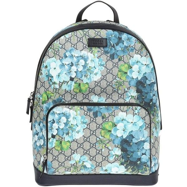 88403f7a7bcd Gucci GG Blooms backpack ($1,480) ❤ liked on Polyvore featuring ...
