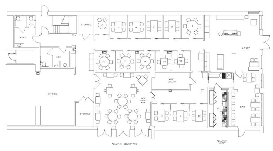 American Diner Furniture Google Sogning Restaurant Layout