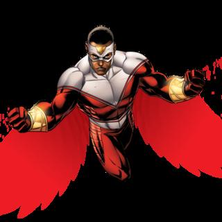 Halcon Black Comics Falcon Marvel Comic Book Characters
