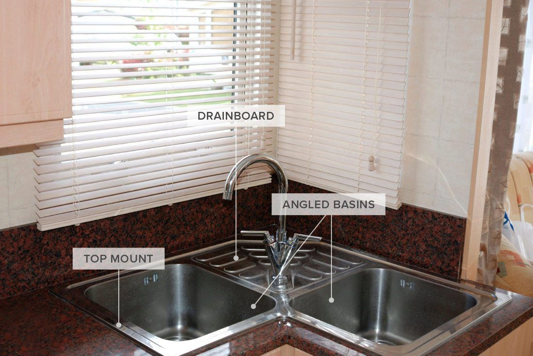 A Corner Sink Is A Great Way To Maximize Counter Space Read On To Learn More About Different Types Of Kitchen Sinks Corner Sink Kitchen Simple Kitchen Sink