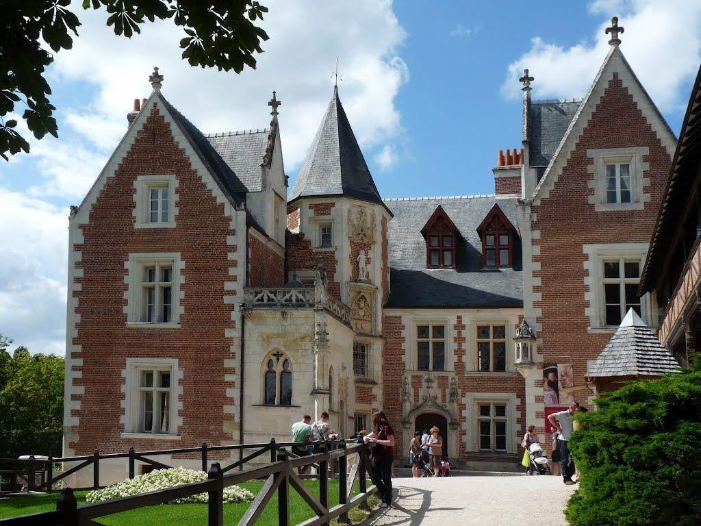Château de Clos-Lucé. Residencia de Leonardo da Vinci