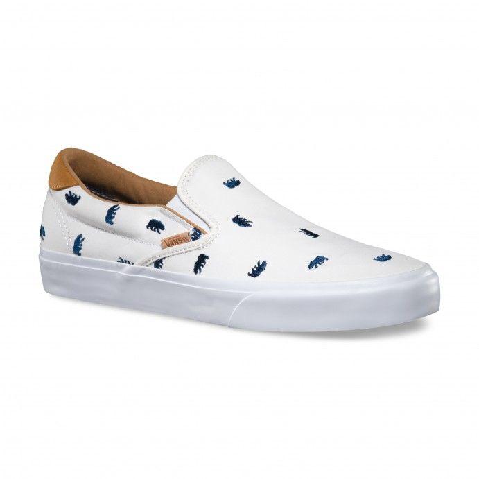 Vans Slip-On 59 CA (Monogram) White/Dress Blues