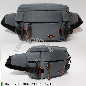 Tas pinggang POLO WATER Waist bag Pria Tas Selempang promo 1116 Navy Limited 14e3b6fc99