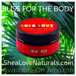 Bliss Therapy Is A Luscious Body Butter Blend Made With Organic Unrefined Shea Butter, Organic Unrefined Coconut Oil, Organic Aloe Vera Gel, Organic Golden Jojoba Oil, And Six Anti-Aging, Anti-Inflammatory Essential Oils. Improves Dry Skin, Wrinkles, Irritated Skin, Stretch Marks, Scars And More! 8 OZ