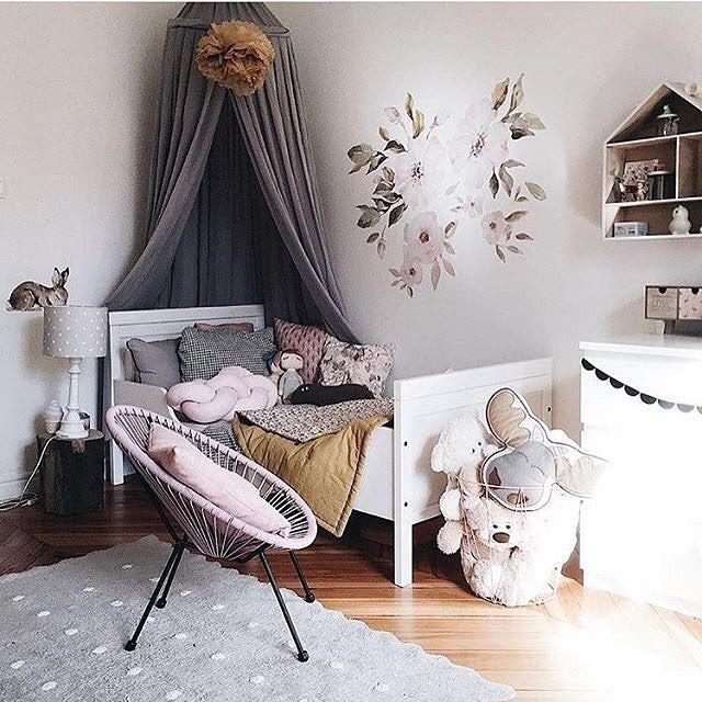 79 Flower Floral Theme Ideas Girl Room Nursery Room
