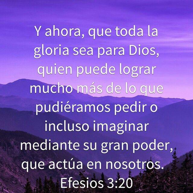 Conhecido Amen. Gracias Padre en Cristo Jesus. Efesios 3:20.   Citas  UV38
