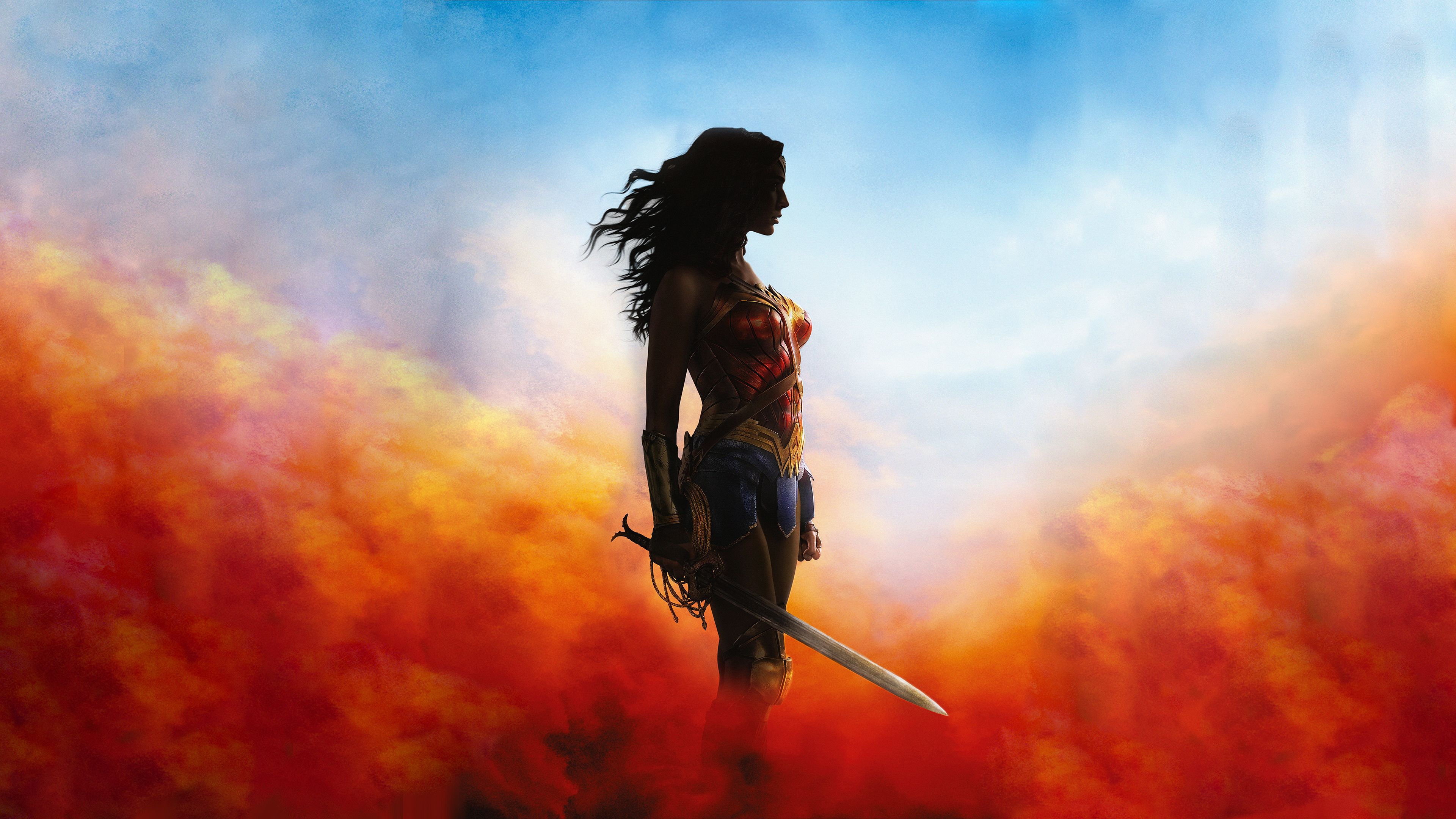 4k Wonder Woman 2018 Wonder Woman Wallpapers Superheroes Wallpapers Hd Wallpapers 4k Wallpapers Wonder Woman 2017 Poster Wonder Woman Lara Croft Wallpaper