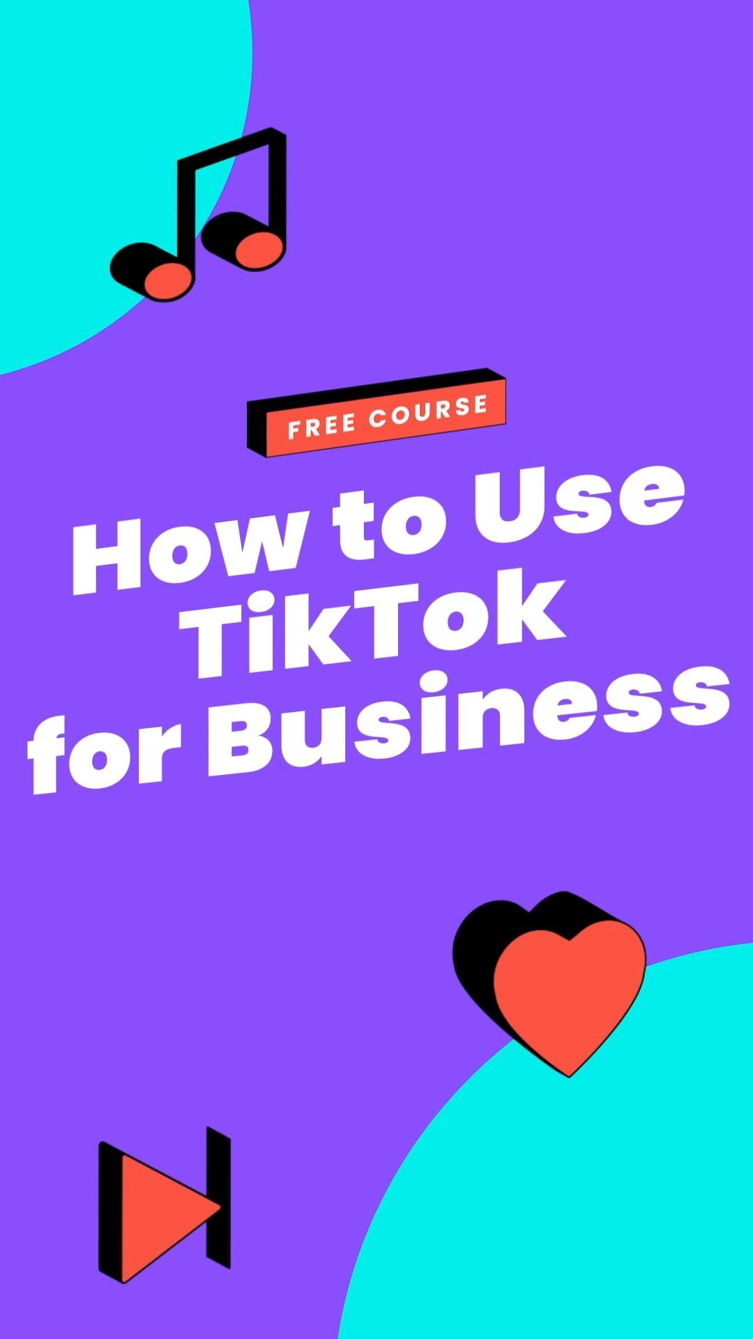 How To Use Tiktok For Business Video Social Media Content Marketing Business