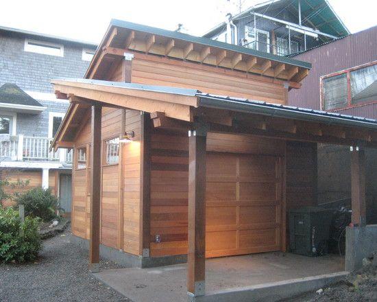 Garage And Shed Garage Shop Organization Design Pictures Remodel Decor And Ideas Page 15 Shed Roof Design Carport Designs Roof Design