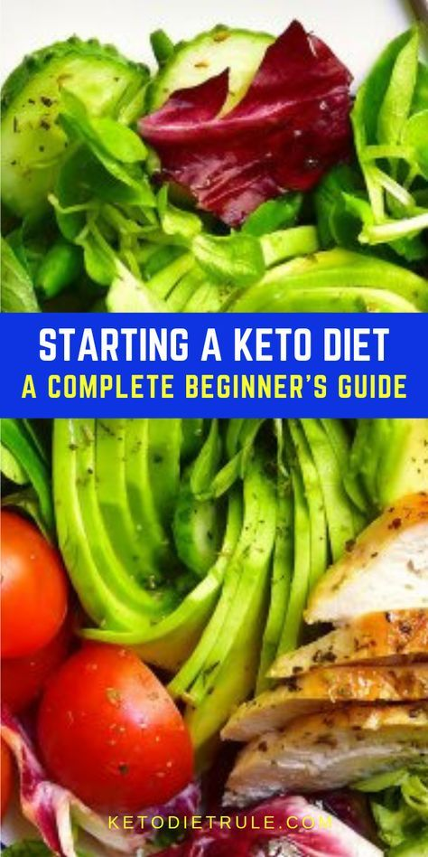 Keto Diet for Beginners - The Complete Keto Guide to Ketosis #ketodietforbeginners
