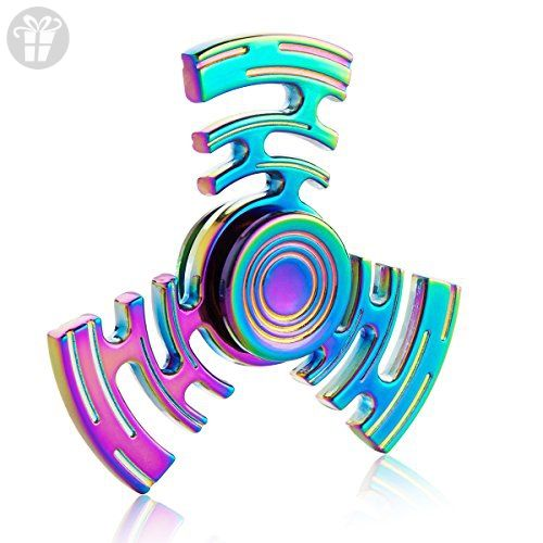Mecule Fidget Spinner Rainbow Hands Stress Toy For Children And Adults Maze