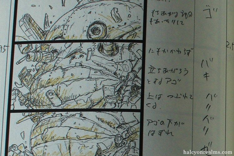 HowlS Moving Castle Storyboard Book