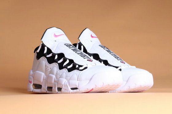 4d3b660d911 Fashion Shoes 2018 Room X Nike Air More Money White Black Pink Shoe ...