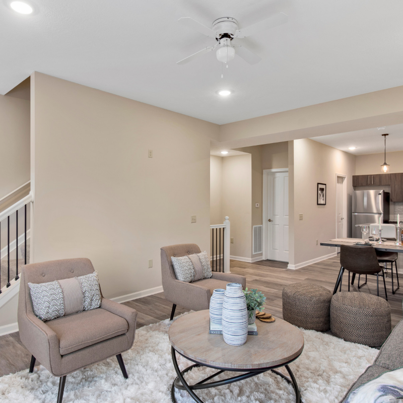 Here's a sneak peak at one of our luxury townhouses
