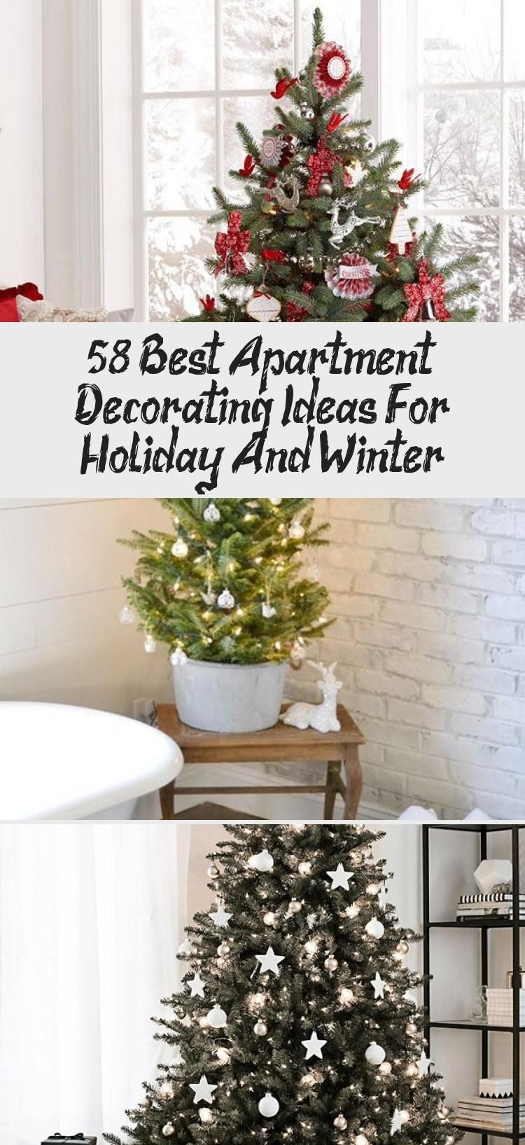 58 Best Apartment Decorating Ideas For Holiday And Winter In 2020 Apartment Decor Cool Apartments Small Apartment Decorating