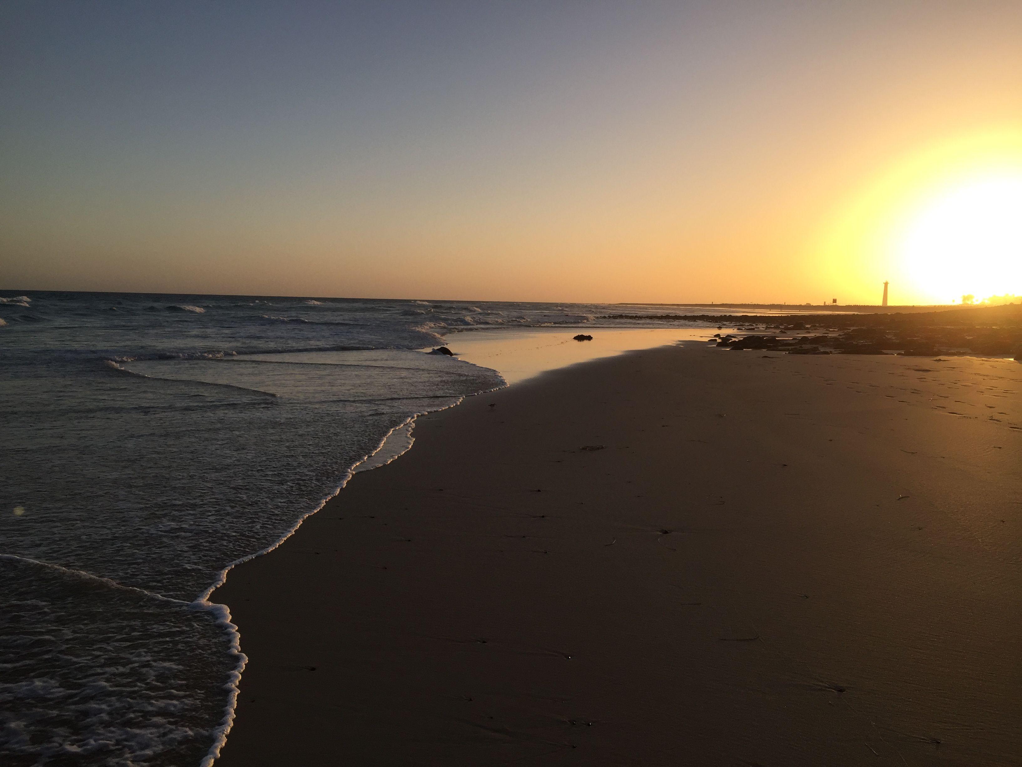 Sonnenuntergang auf Fuerteventura. Jandia Fuerteventura