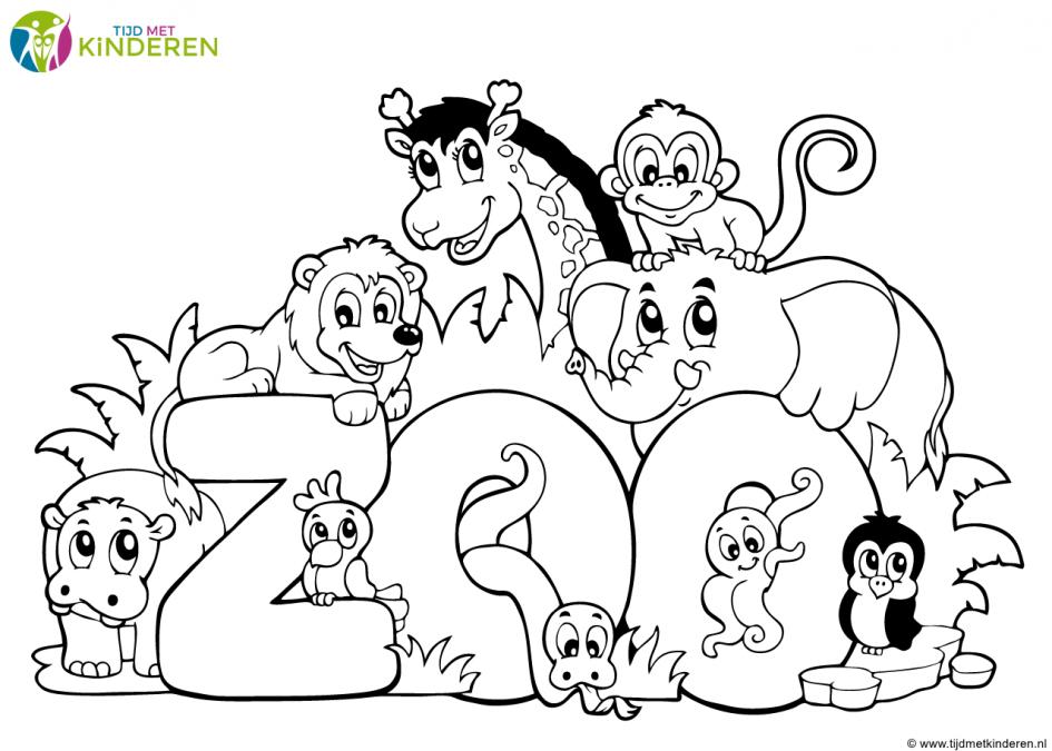 kinderen, Kleurplaten Dieren Leukste Voor Kids Kleurplaat Baby ...