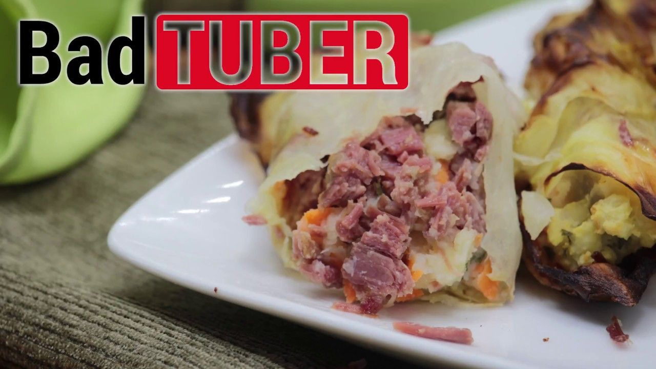 Corned Beef and Cabbage Wraps for Saint Patrick's Day -- Easy Recipes