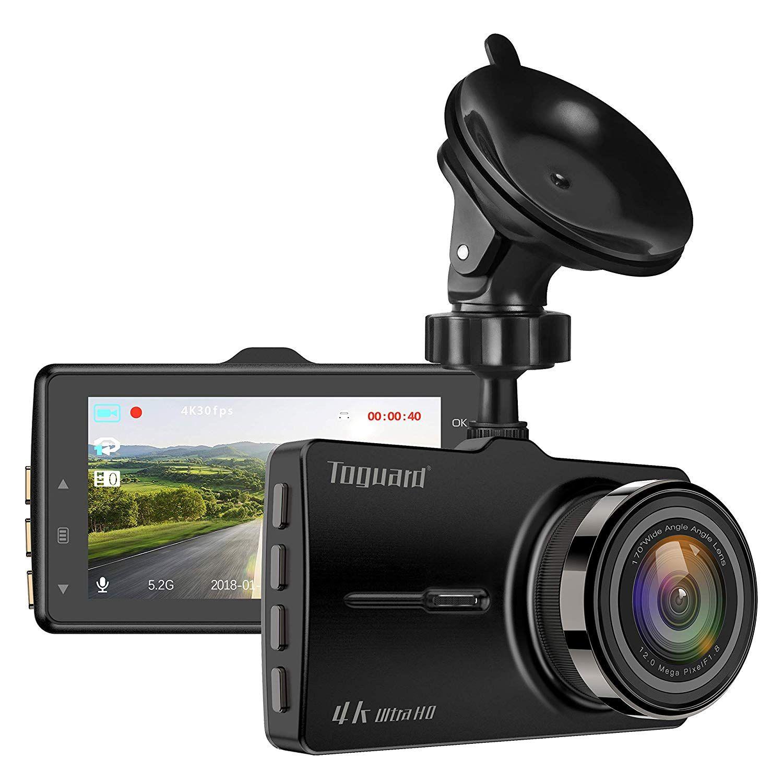 Toguard Dash Cam 4k Uhd Car Dash Camera 3 Lcd Dashboard Camera With 170a Wide Angle Super Night Vision Parking Mode Loop Re Dash Camera Dashcam Car Camera