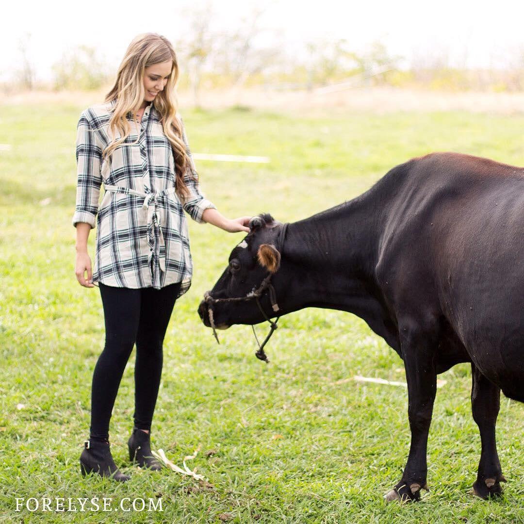 Holy cow! #farmvibes #FEGirl #loveit #FE // ForElyse.com