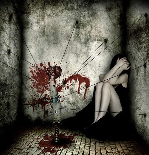 macabre photography | 40 Amazing Examples of Horror and ...