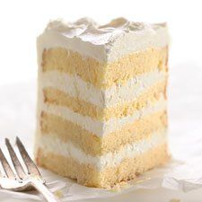 Self-Rising Yellow Cake - This moist, tender, delicious cake bakes up with a nice, level top — perfect for icing a special birthday cake.