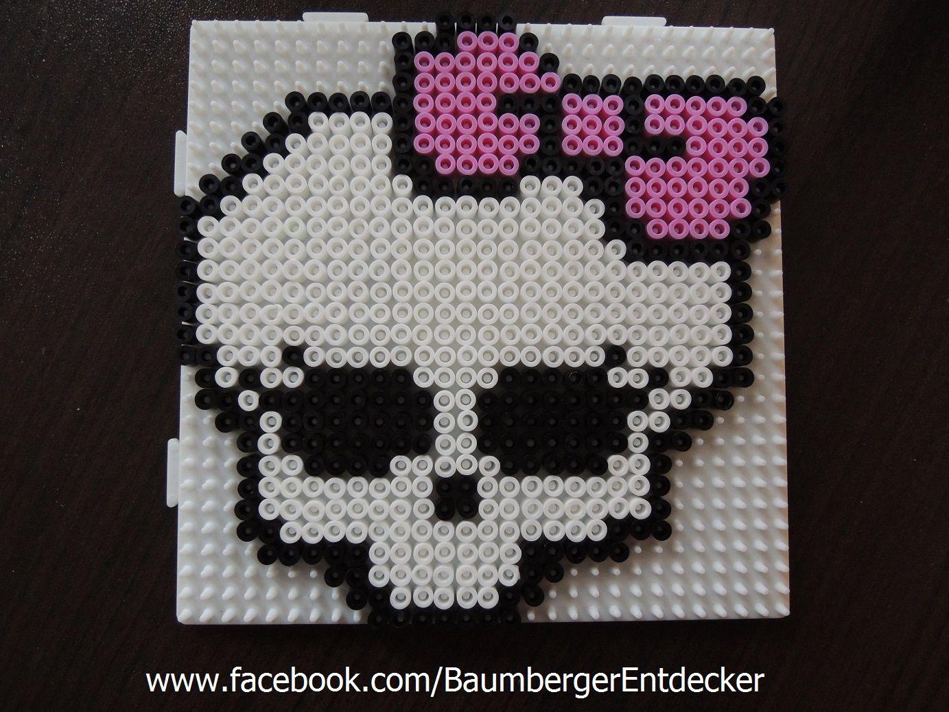 Monster High aus Bügelperlen www.facebook.com/BaumbergerEntdecker ...