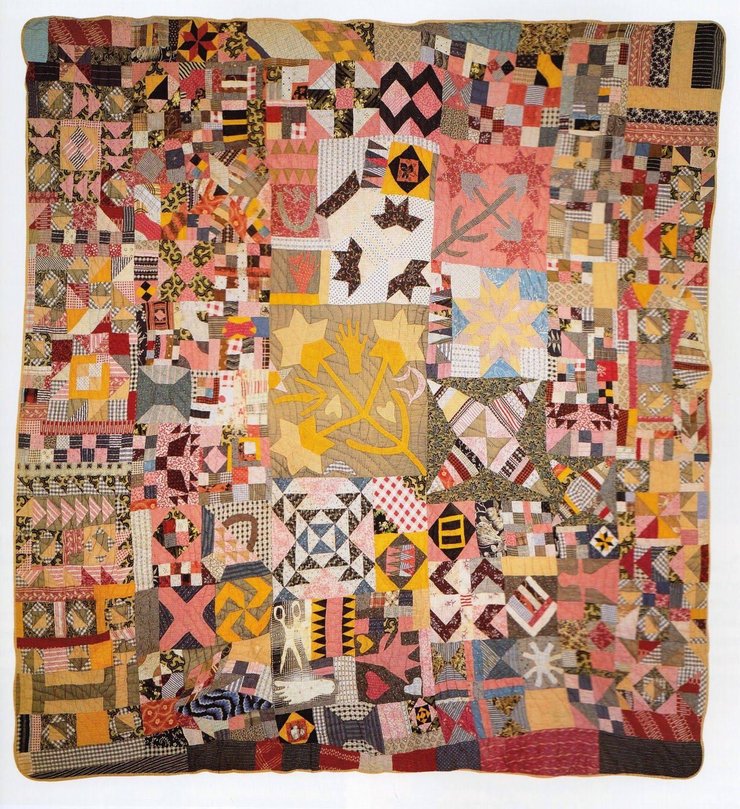 African American Traditions: SIGNS & SYMBOLS: Part II ~ African Images in African American Quilts