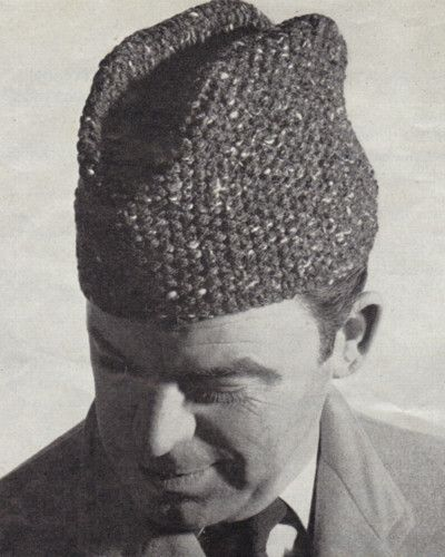 4079bb1ea Details about Knitting Pattern Russian Cossack Hat Retro Vintage ...
