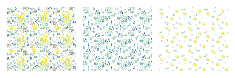 Wiederholende Muster Aus Aquarellmotiven Mit Freeware Erstellen Gimp Und Inkscape Tutorial Schritt 4 Sei Stolz Auf Dich Muster Motive Collage