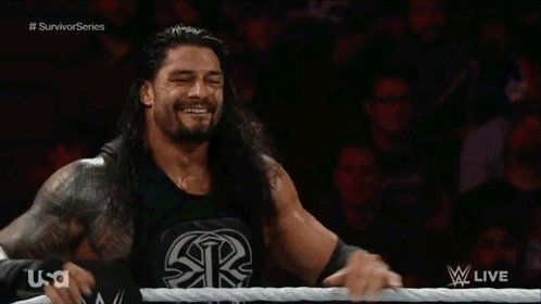 """D.C. en Twitter: """"@RomanReignsNet it's Monday which means one thing. It's time for the #BigDog to hand out some early Christmas presents in the form of spears https://t.co/VMhCXOlcF8"""""""