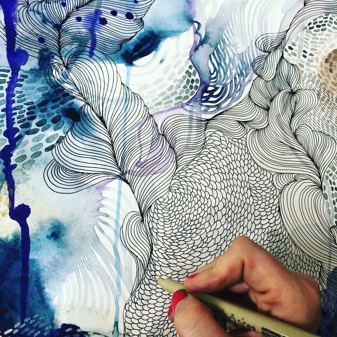 Carte De Vœux March Workshop Subject Par Bev Wells Flower Art