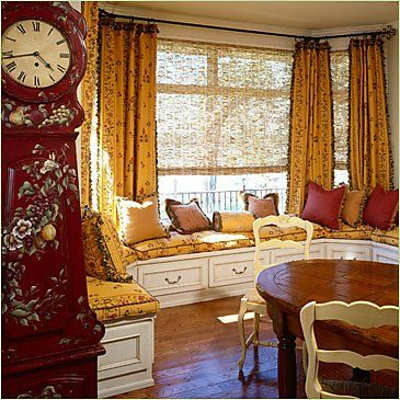 French Country Kitchen Curtains | Beso.com This Is Great For The Window  Seats In