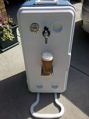 Corny Cooler Portable Kegerator Diy With Images Home