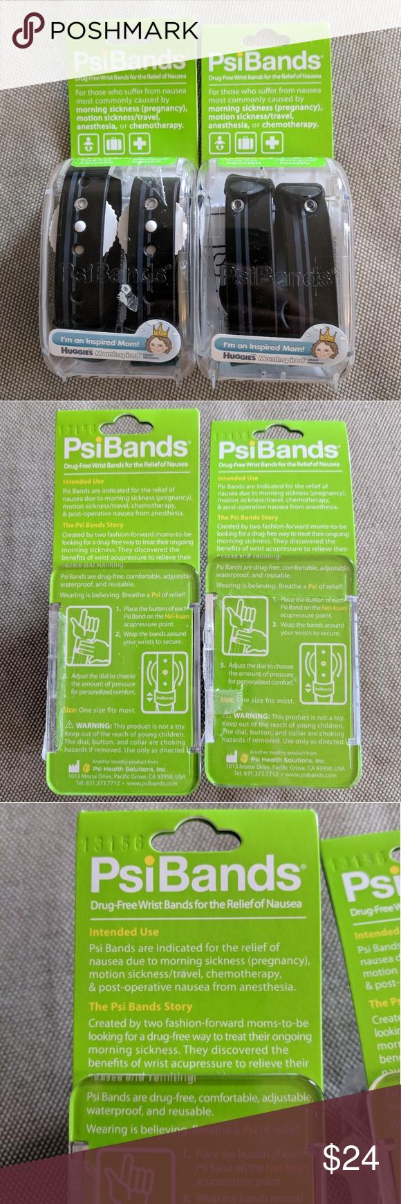 PsiBands Acupressure Wrist Bands Maternity Nausea PsiBands ...
