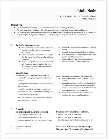 Account Executive Resume Account Executive Resume Download At Httpwriteresume2